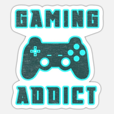 Console Gaming Addict Gamepad console console - Sticker