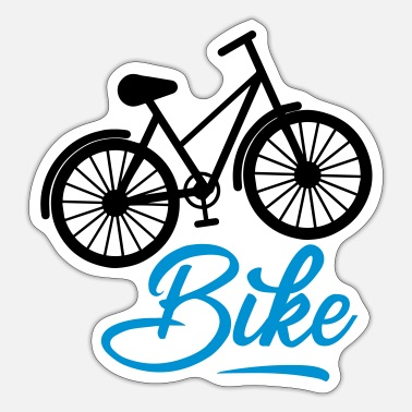 To Go Biking Bike - Sticker