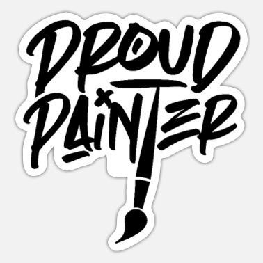 Painting Painting - Sticker