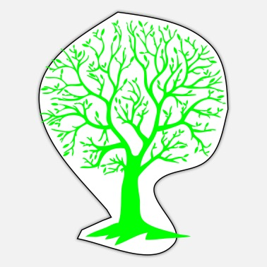 Circular environment tree circular - Sticker