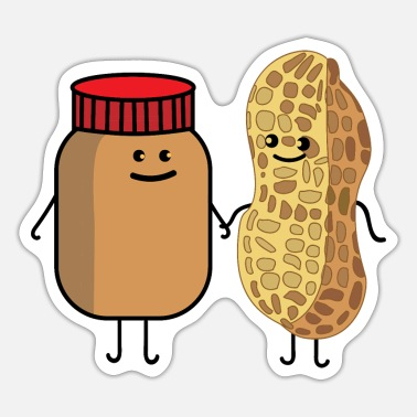 Peanut Butter Of Peanut and peanut butter - Sticker