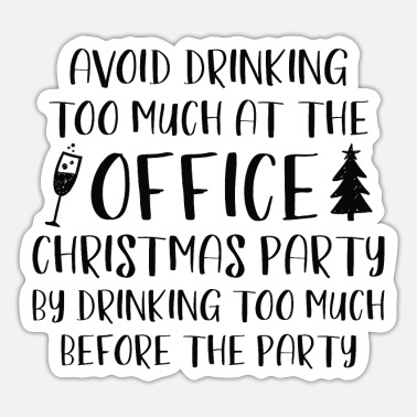 Office Office Christmas Party - Sticker
