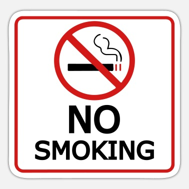 Smoking no smoking - Sticker