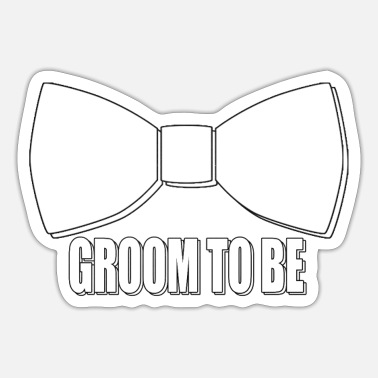Groom To Be Groom to be - Sticker