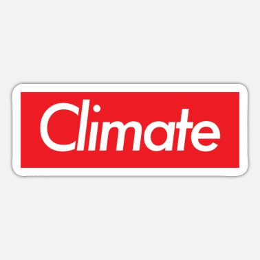 Climate climate - Sticker
