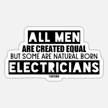 Birth Electrician's birth - Sticker