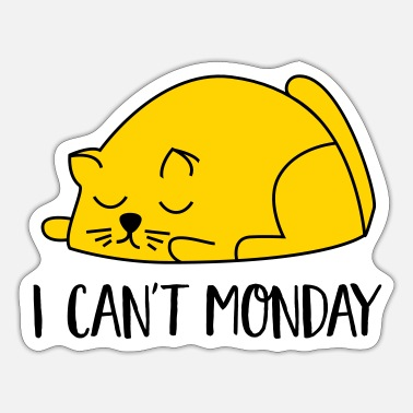 Monday Monday - Sticker
