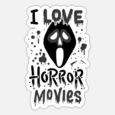 Horror Movies Horror Movies - Sticker