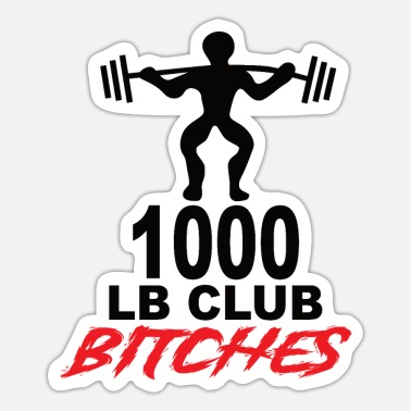 Weightlifting Weightlifting - Sticker