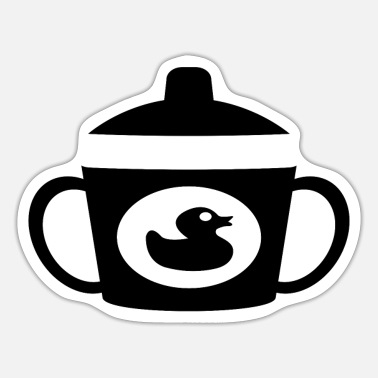 Beak beak cup - Sticker