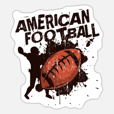American Football American football - Sticker