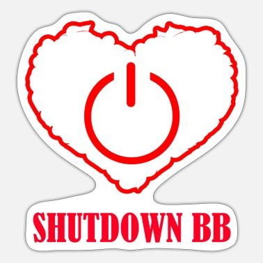 Bb Shutdown BB - Sticker