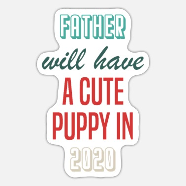 Owner Papa dog owner 2020 - Sticker