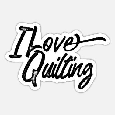 Quilter Quilters Team Quilter Quilting Quilt Quilts - Sticker