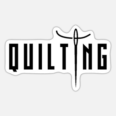 Quilter Dad Quilting Quilt Quilter - Sticker