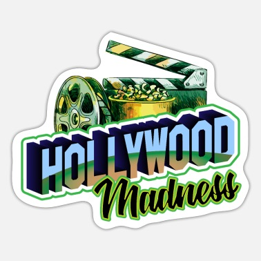 Hollywood Hollywood Madness - Sticker