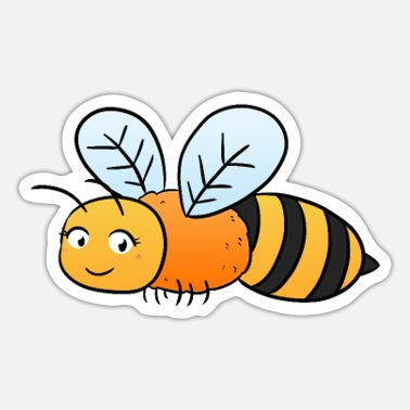 Bees Bee Bee - Sticker