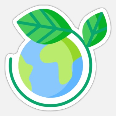 Ecology planet earth ecology - Sticker