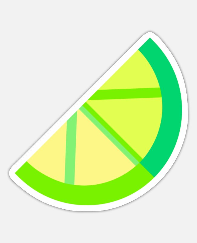 Lemonade Stickers - lemon illustration - Sticker white matte