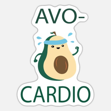 Avocardio AvocarDio RUN - Sticker
