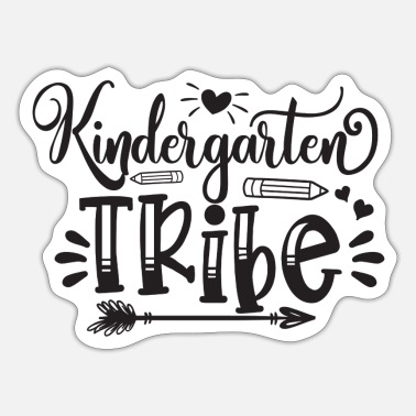 Tribe kindergarten tribe - Sticker