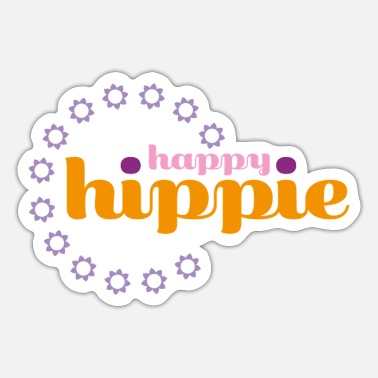 Hippie Hippie - Sticker
