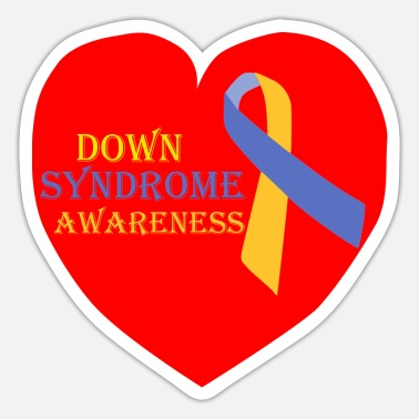 Down DOWN SYNDROME - Sticker