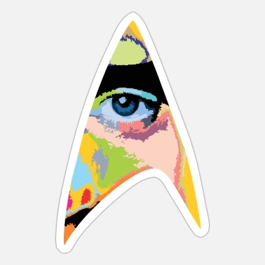 Star Trek Eye - Sticker