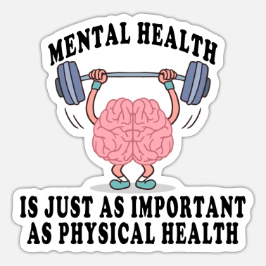 Mental Mental Health - Sticker