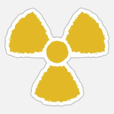 Nuclear Nuclear symbol - Sticker