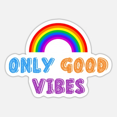 Only Good Vibes - Sticker