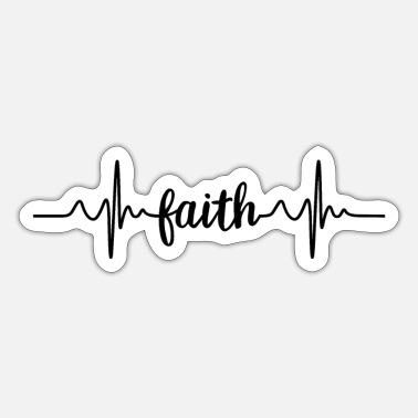 Pulse faith pulse - Sticker