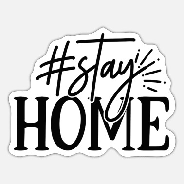 Stayhome Hashtag stayhome - Sticker