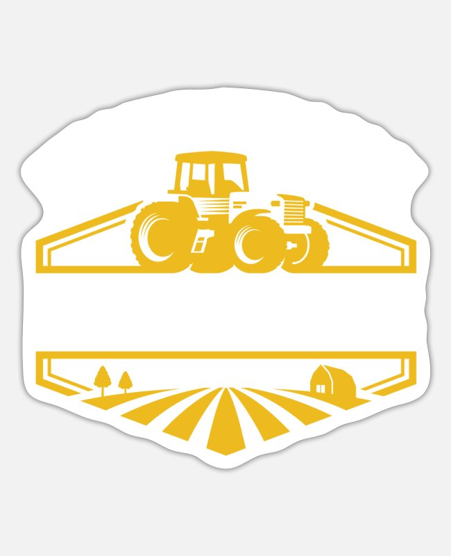 Local Farmers Stickers - Support Your Local Farmers - Sticker white matte