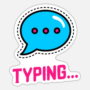 Text texting - Sticker