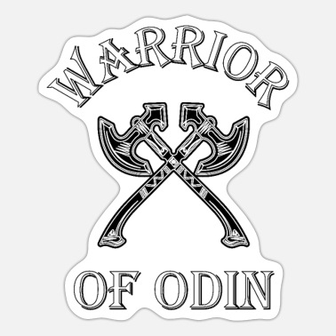 Odin Warrior of Odin Vikings - Sticker