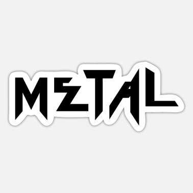 Heavy Metal Heavy Metal - Sticker
