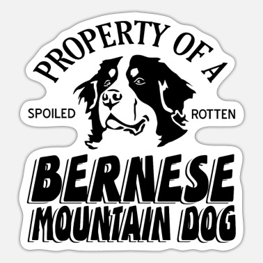 Mountain Bernese Cattle - Sticker