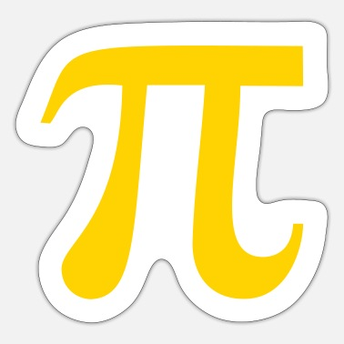 Pi Pi - Sticker