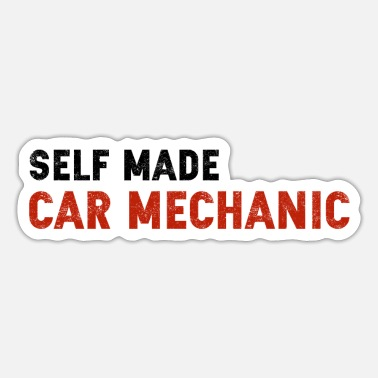 Car Mechanic Car Mechanic - Sticker