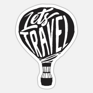 Travel Travel Traveling - Sticker