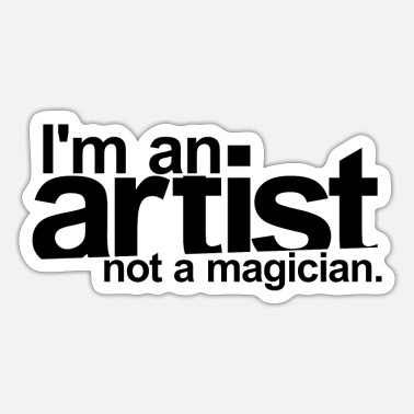 Artist CAREER Artist - Sticker