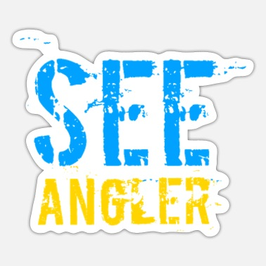 See See Angler - Sticker