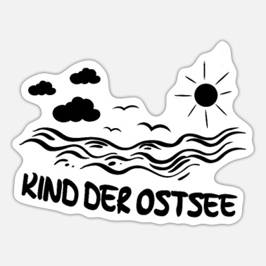 Baltic Sea Child of the Baltic Sea - Sticker
