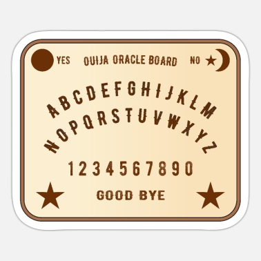 Oracle Ouija Oracle Mediums Board - Sticker