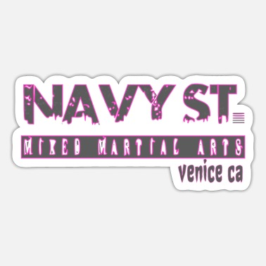 Navy Navy St. T-Shirt Vintage Design, Navy Street Shirt - Sticker