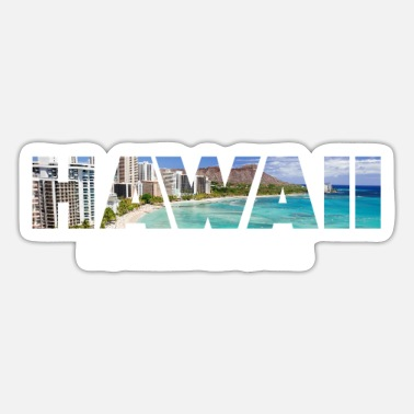 Hawaii Hawaii - Hawaii Party - Sticker