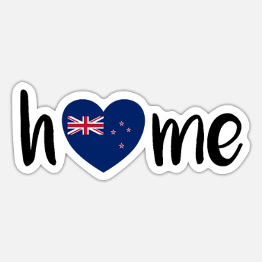 New Zealand New Zealand! - Sticker