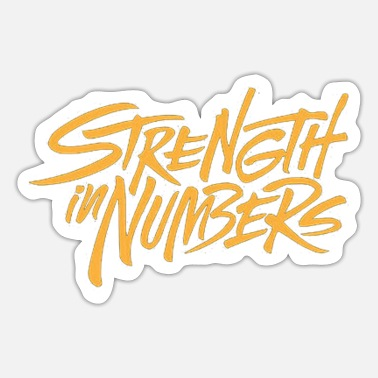 Golden State Warriors strength in numbers warriors - Sticker