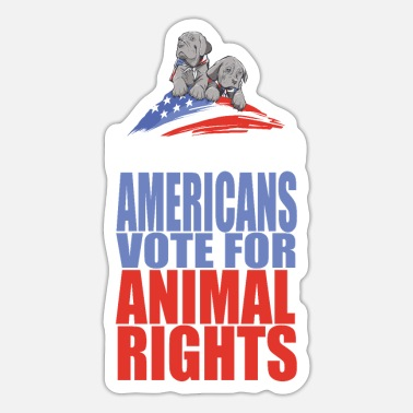 Animal Rights Animal Right - Sticker